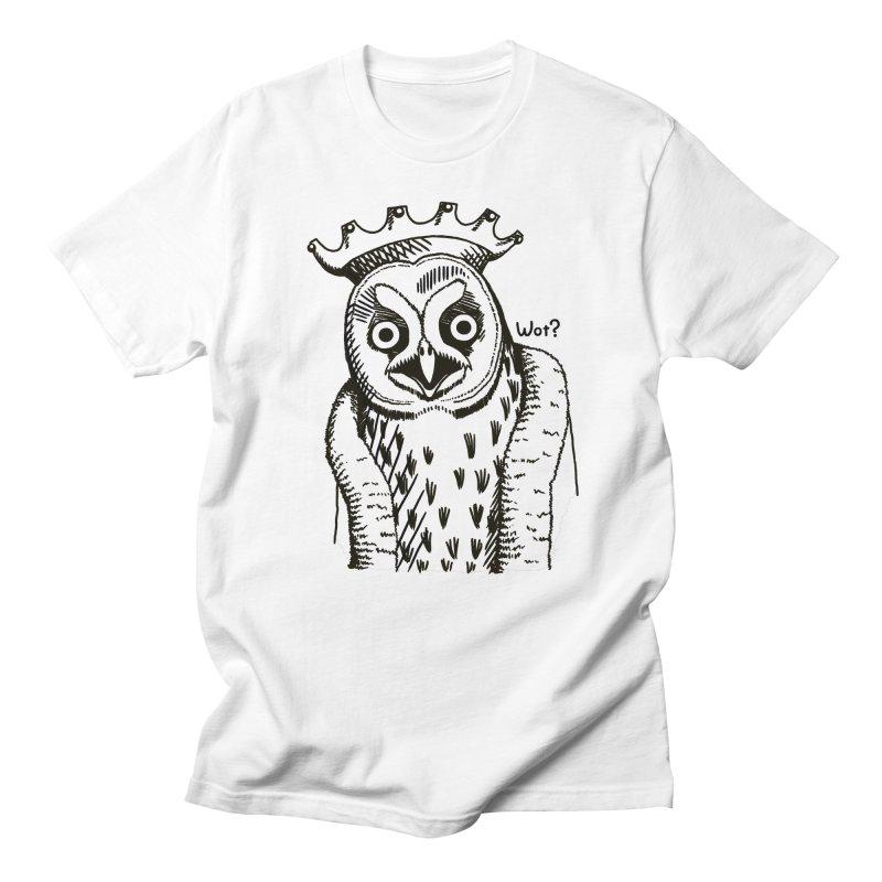 Wot Lord Men's Regular T-Shirt by Owl Basket