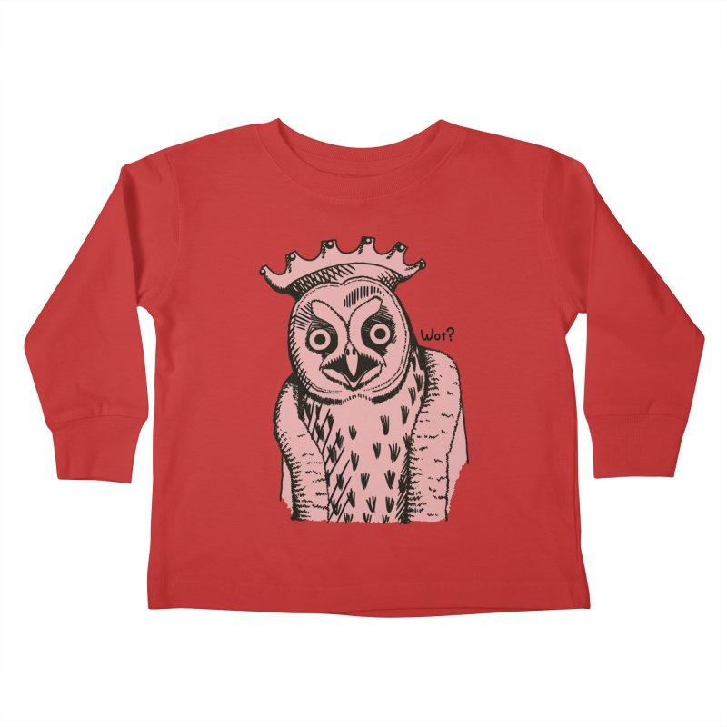 Wot Lord Kids Toddler Longsleeve T-Shirt by Owl Basket