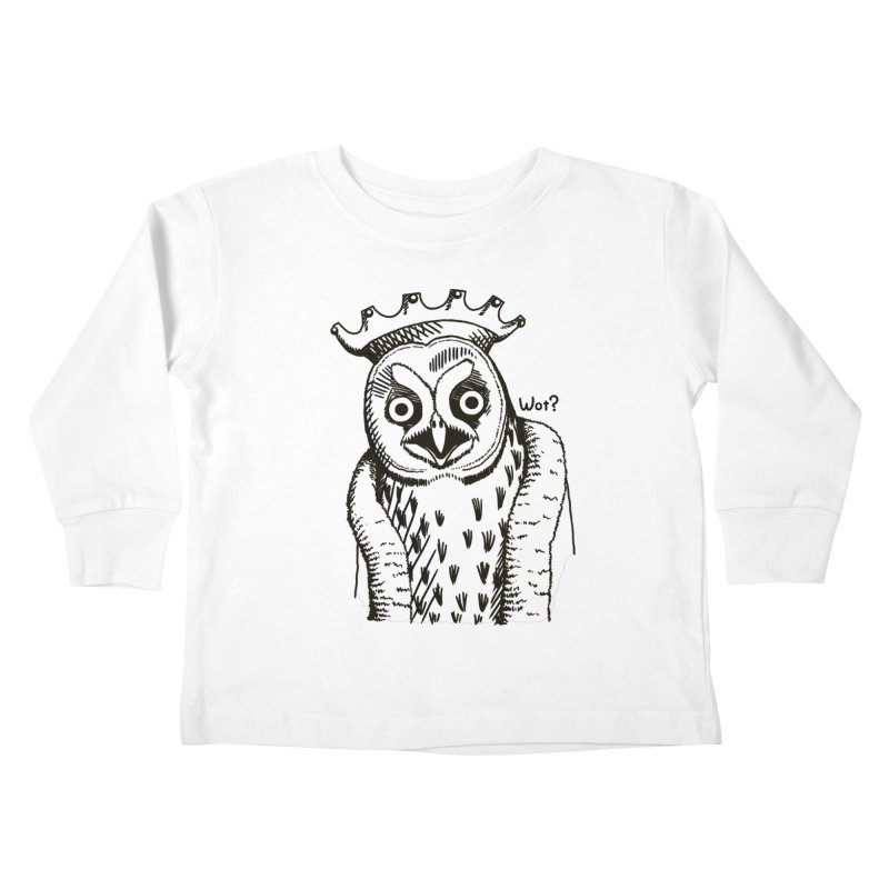 Wot Lord Kids Toddler Longsleeve T-Shirt by Owl Basket