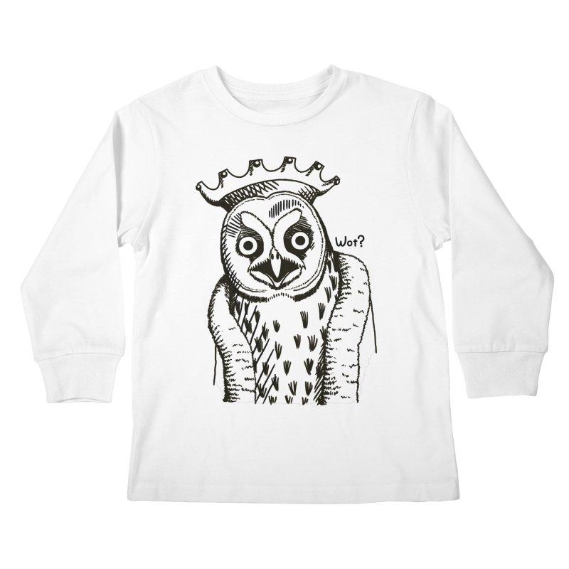 Wot Lord Kids Longsleeve T-Shirt by Owl Basket