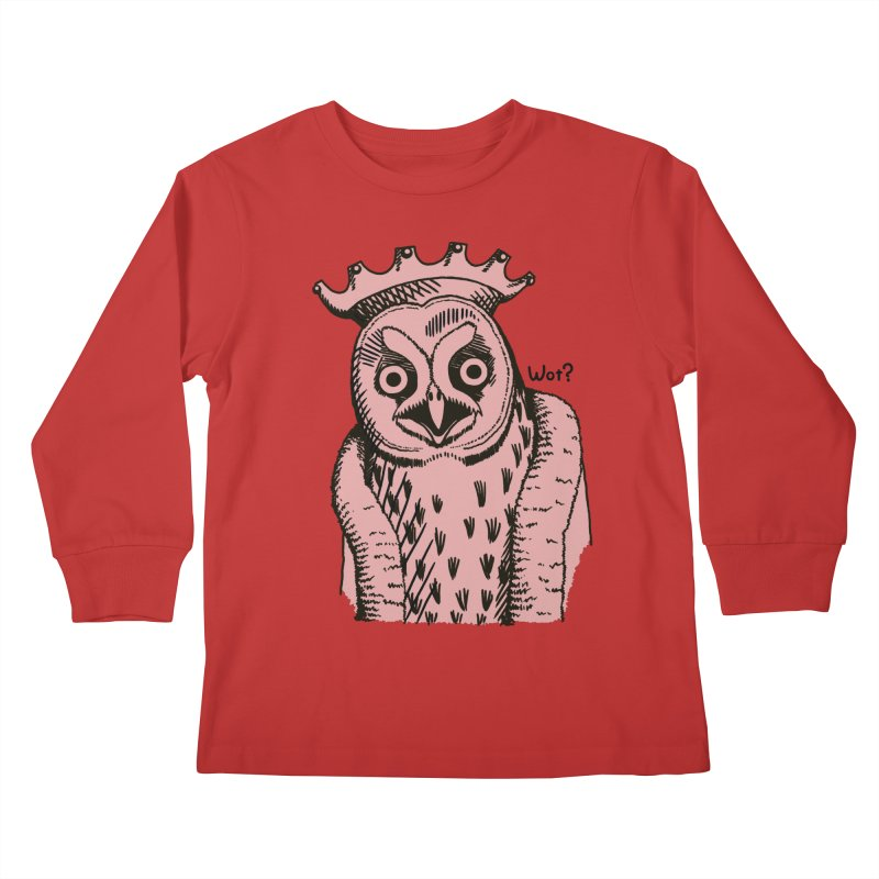 Wot Lord Kids Longsleeve T-Shirt by Owl Basket