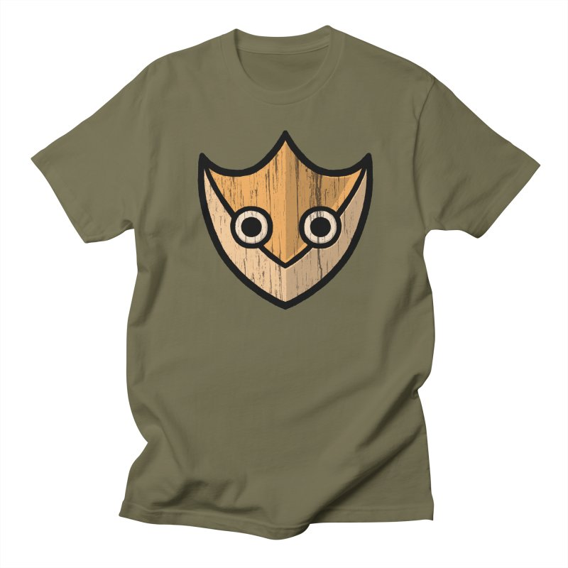 Shield of Buffet Men's T-Shirt by Owl Basket