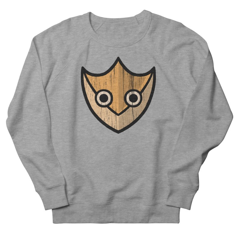 Shield of Buffet Women's French Terry Sweatshirt by Owl Basket