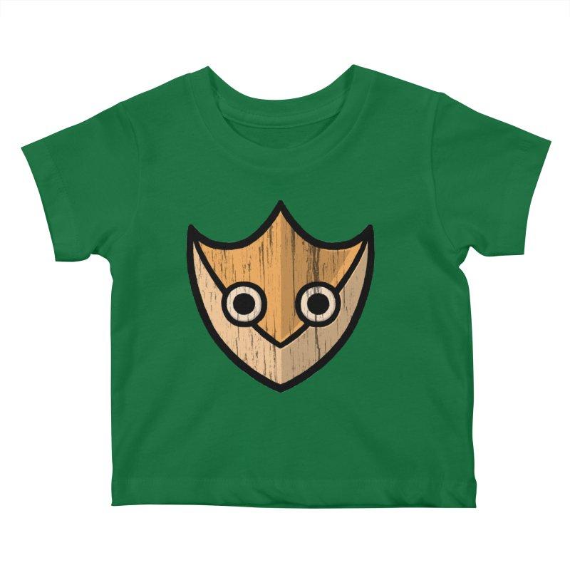 Shield of Buffet Kids Baby T-Shirt by Owl Basket