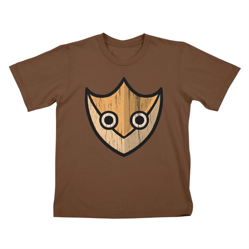 Shield of Buffet Kids T-Shirt by Owl Basket