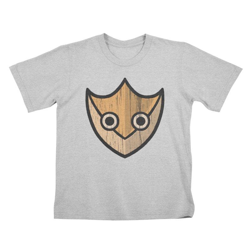 Shield of Buffet Kids T-Shirt by Owl Basket