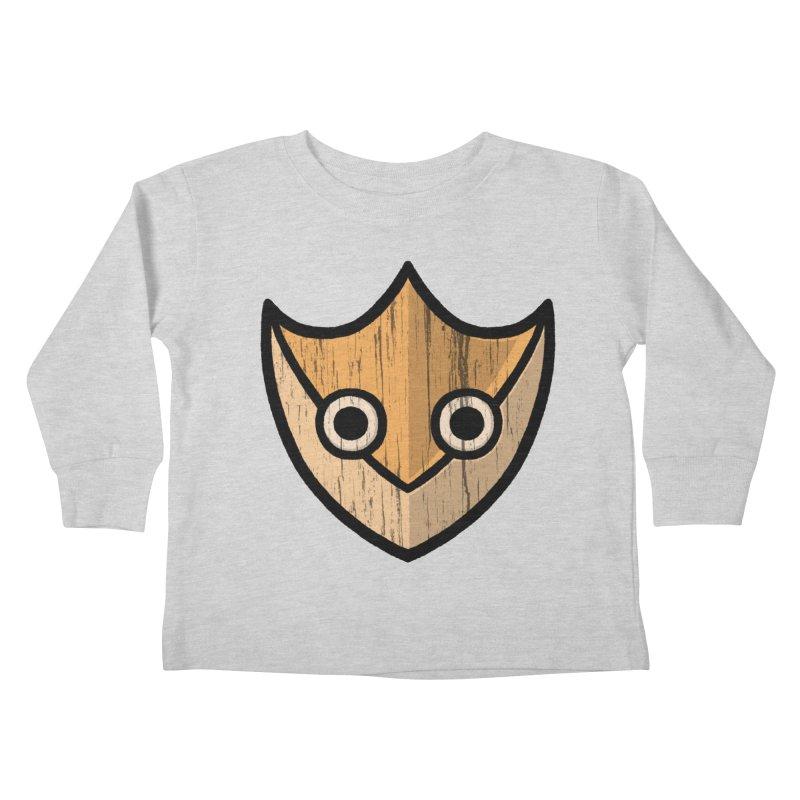 Shield of Buffet Kids Toddler Longsleeve T-Shirt by Owl Basket