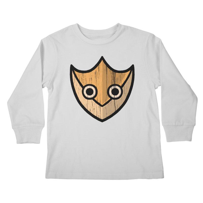 Shield of Buffet Kids Longsleeve T-Shirt by Owl Basket