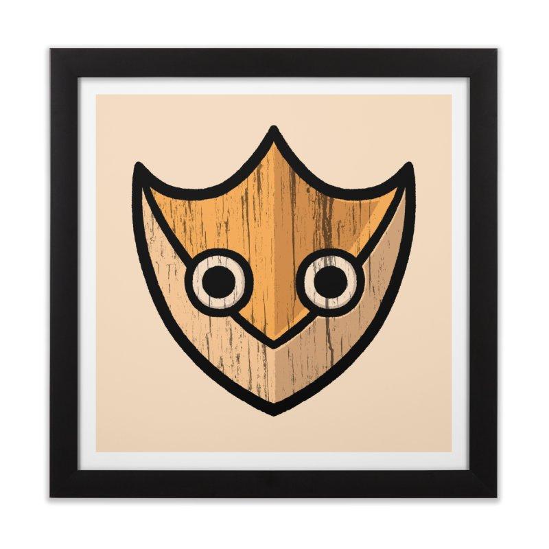 Shield of Buffet Home Framed Fine Art Print by Owl Basket