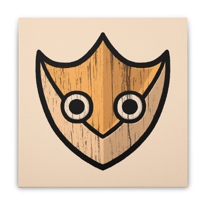 Shield of Buffet Home Stretched Canvas by Owl Basket