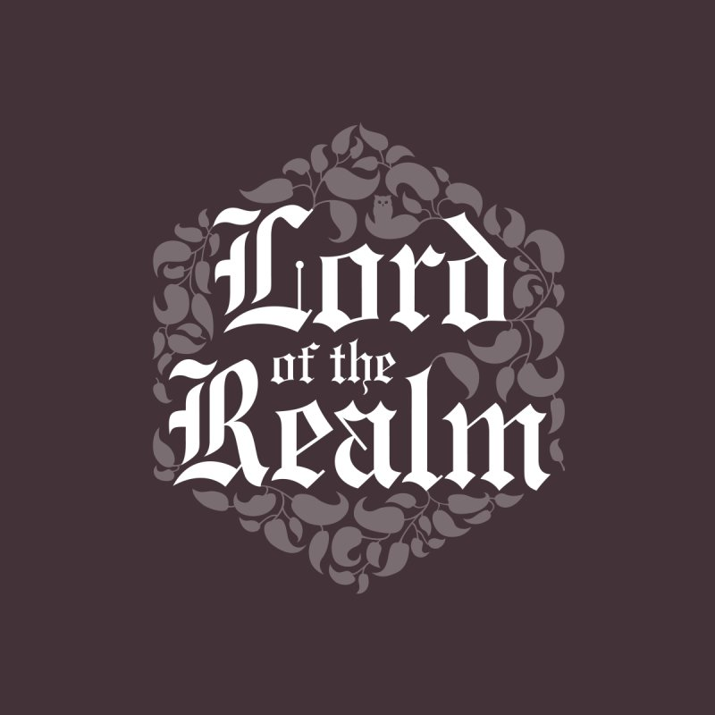 Lord of the Realm (white) Men's T-Shirt by Owl Basket