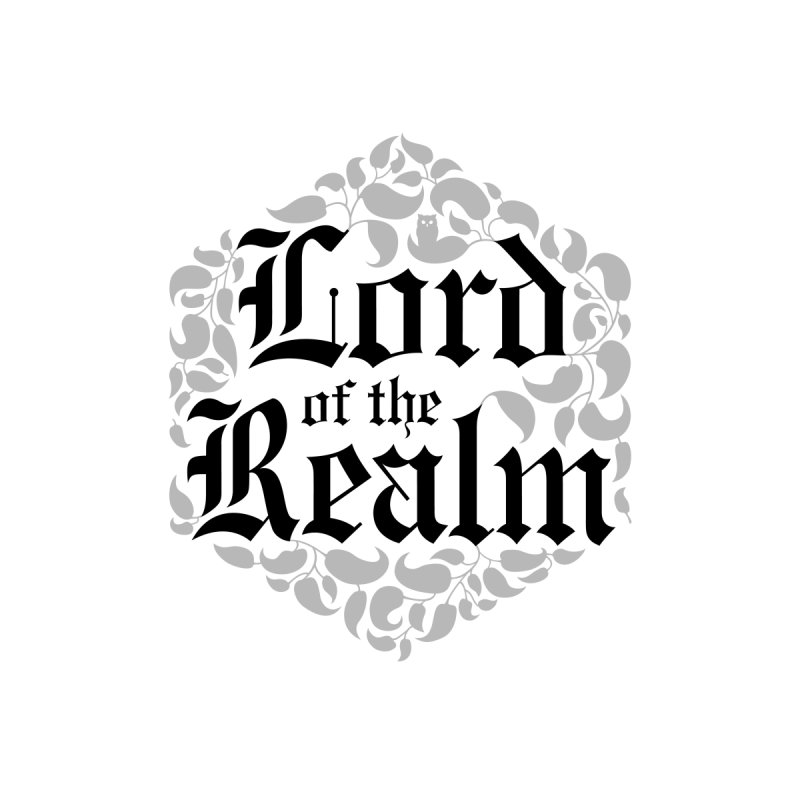 Lord of the Realm (black) Men's T-Shirt by Owl Basket