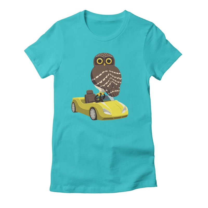 Driving Owl Women's T-Shirt by Owl Basket
