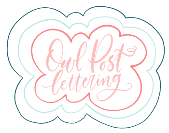owlpostlettering's Artist Shop Logo