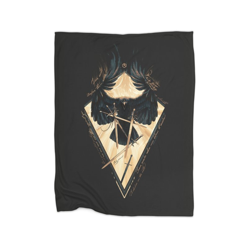 Game of Thrones Home Fleece Blanket Blanket by Oxana Bayra's shop
