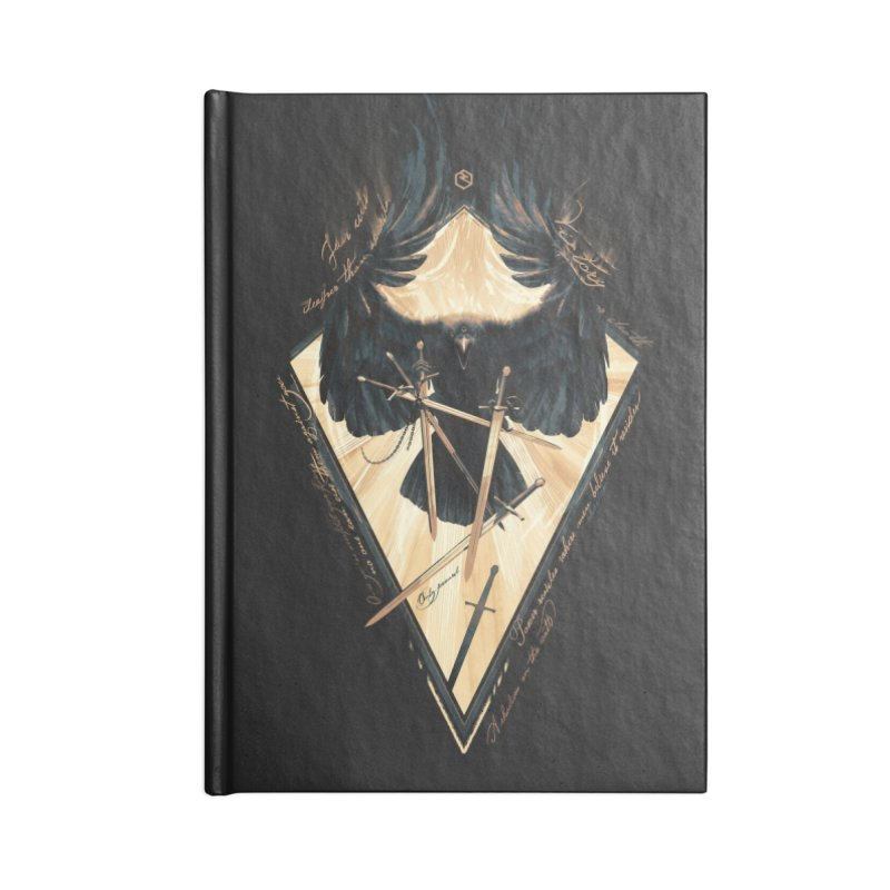Game of Thrones Accessories Lined Journal Notebook by Oxana Bayra's shop