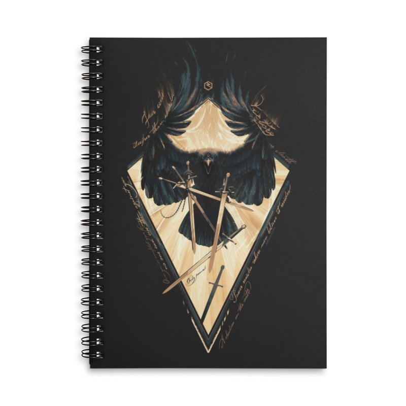 Game of Thrones Accessories Notebook by Oxana Bayra's shop