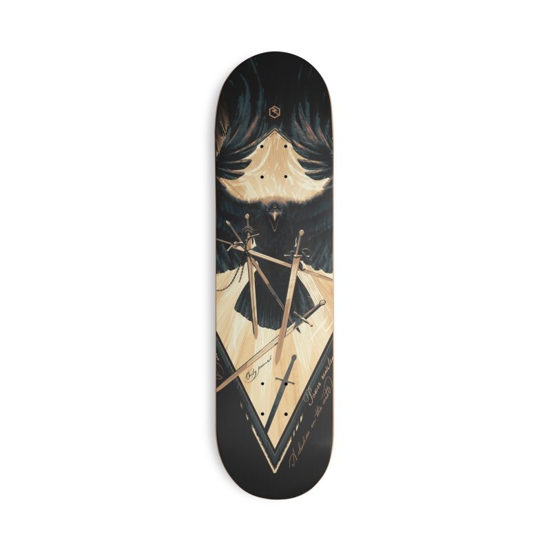 Game of Thrones Accessories Skateboard by Oxana Bayra's shop