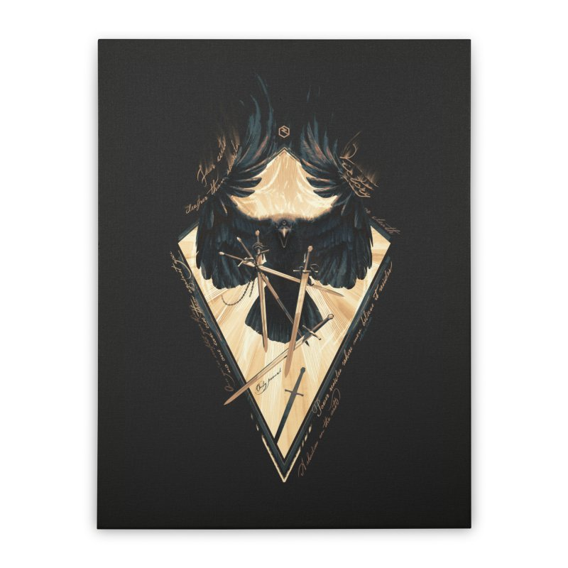 Game of Thrones Home Stretched Canvas by Oxana Bayra's shop