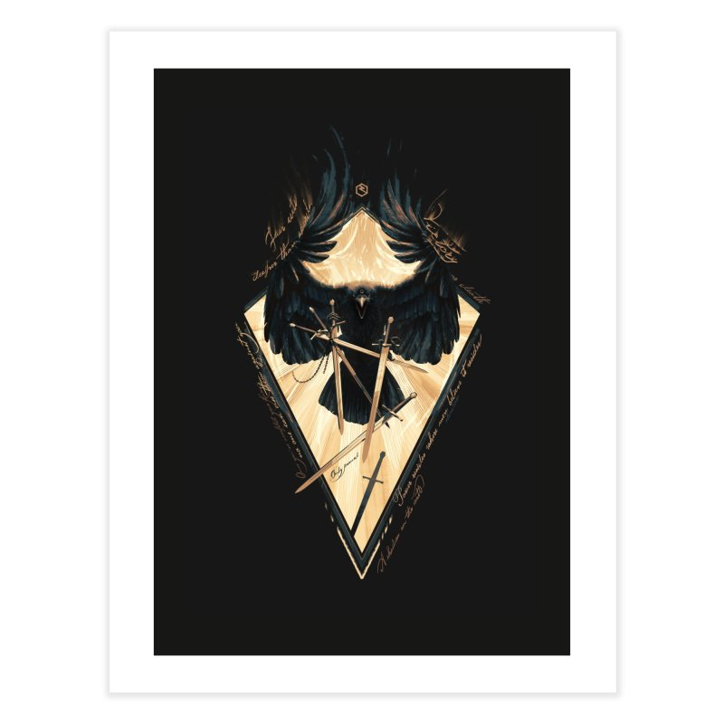 Game of Thrones Home Fine Art Print by Oxana Bayra's shop