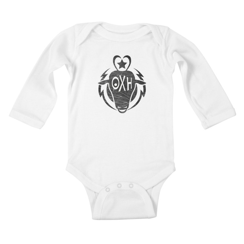 BULL SHIRT Kids Baby Longsleeve Bodysuit by OX SHOP