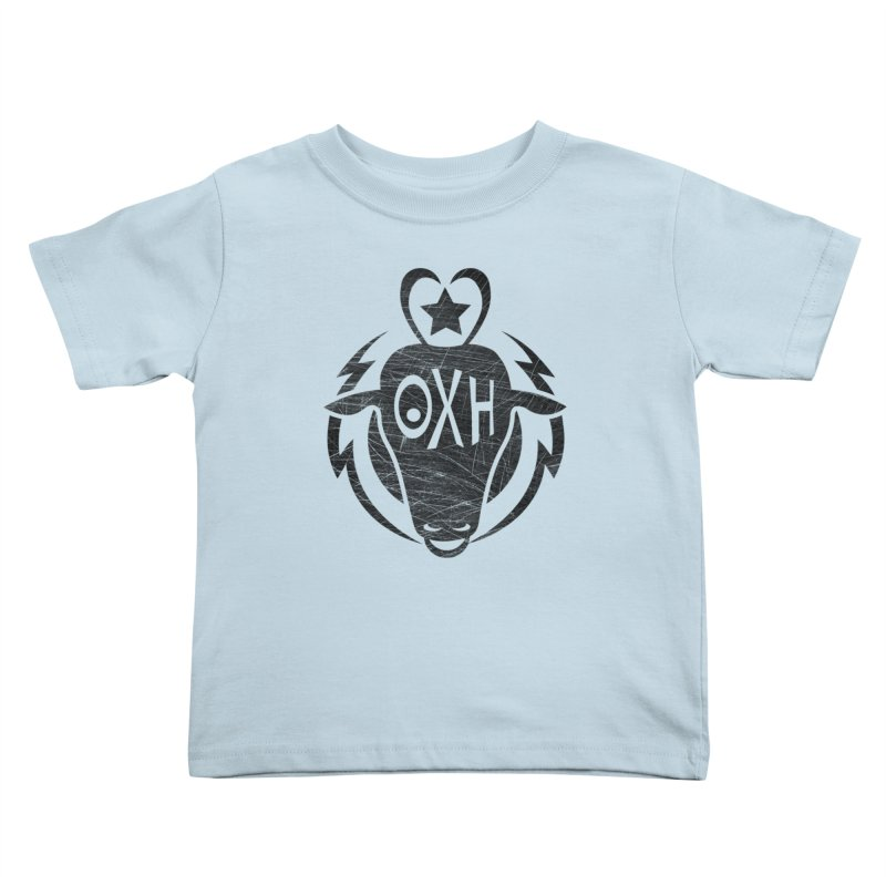 BULL SHIRT Kids Toddler T-Shirt by OX SHOP