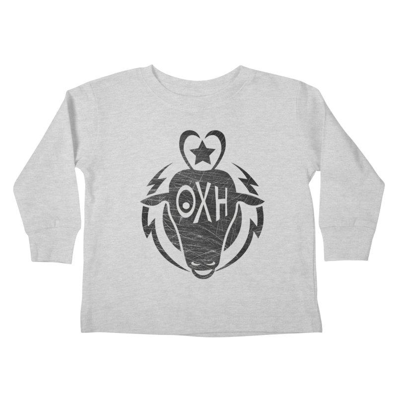 BULL SHIRT Kids Toddler Longsleeve T-Shirt by OX SHOP