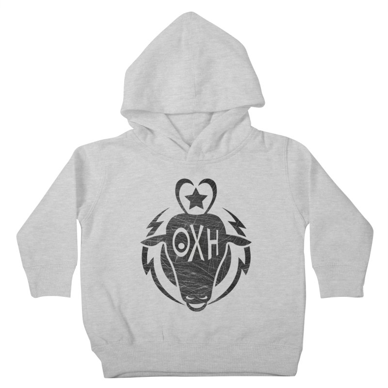 BULL SHIRT Kids Toddler Pullover Hoody by OX SHOP