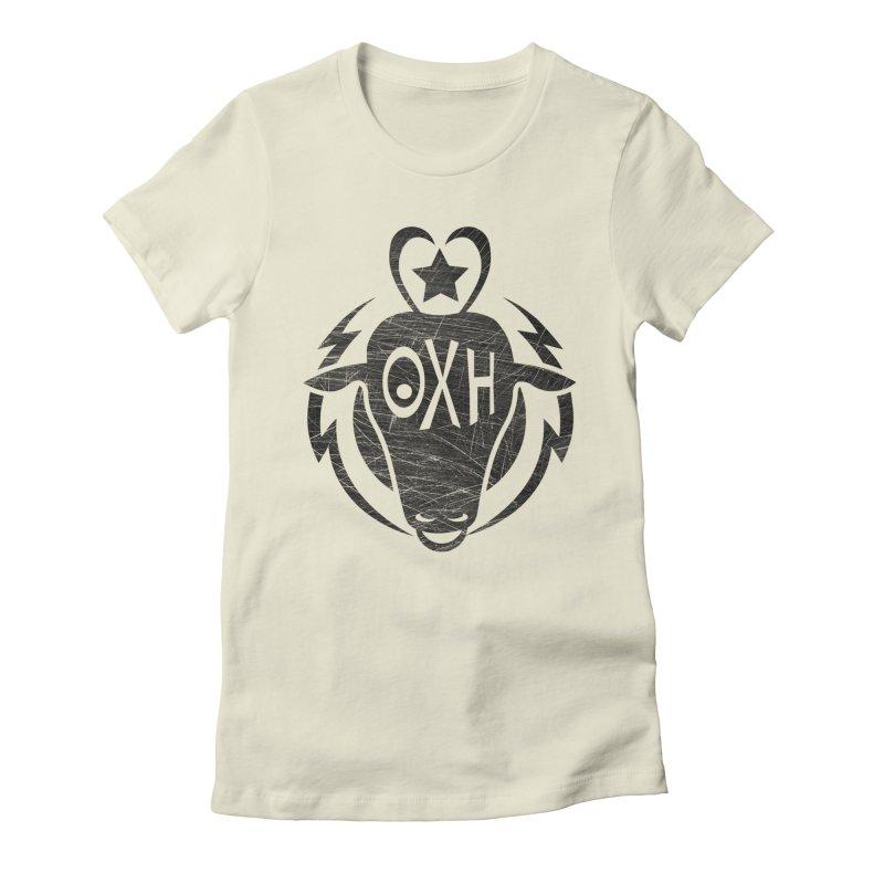 BULL SHIRT Women's Fitted T-Shirt by OX SHOP