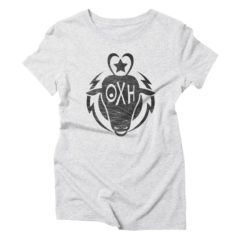 BULL SHIRT Women's Triblend T-Shirt by OX SHOP