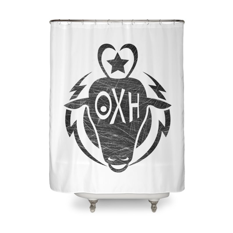 BULL SHIRT Home Shower Curtain by OX SHOP