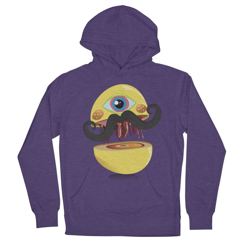 Burger Monsta Women's Pullover Hoody by P34K's shop