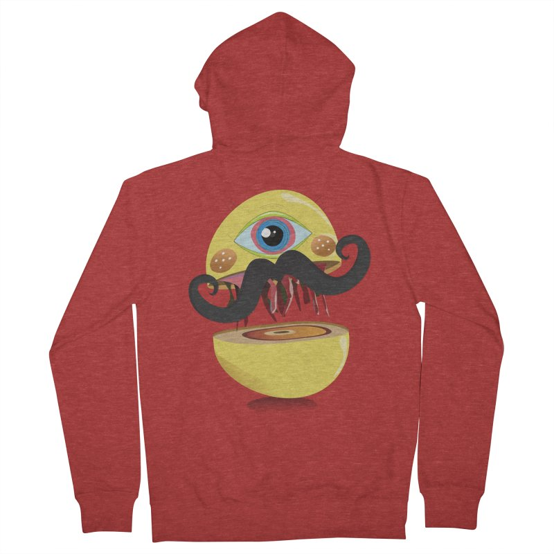 Burger Monsta Women's Zip-Up Hoody by P34K's shop