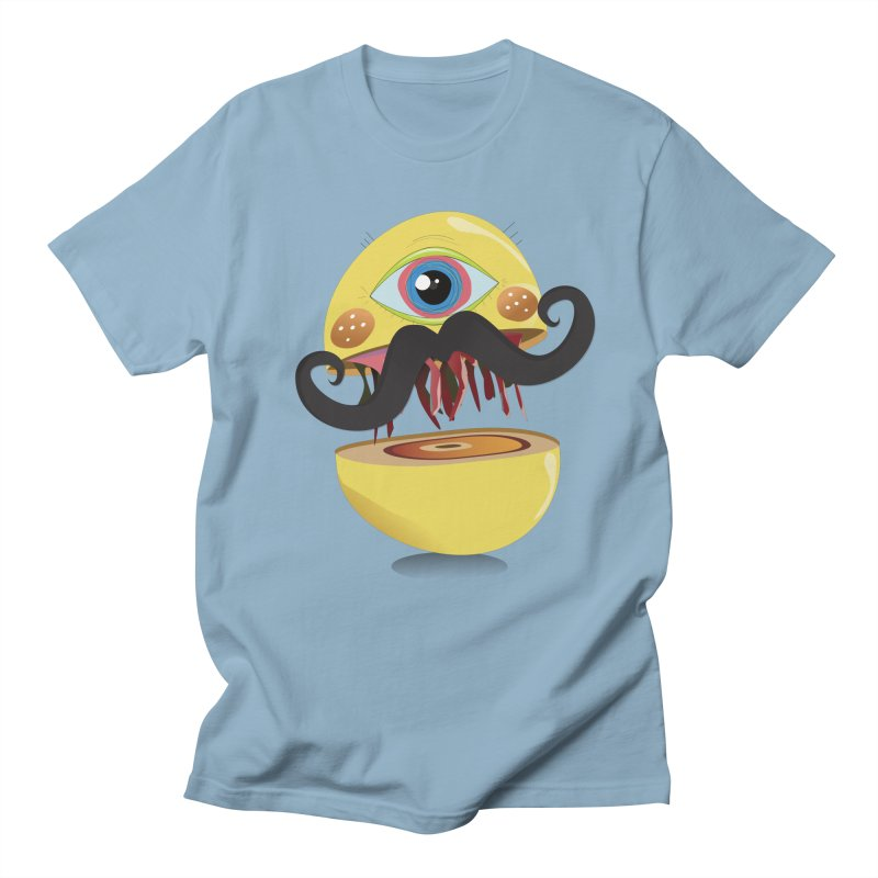 Burger Monsta Men's T-Shirt by P34K's shop