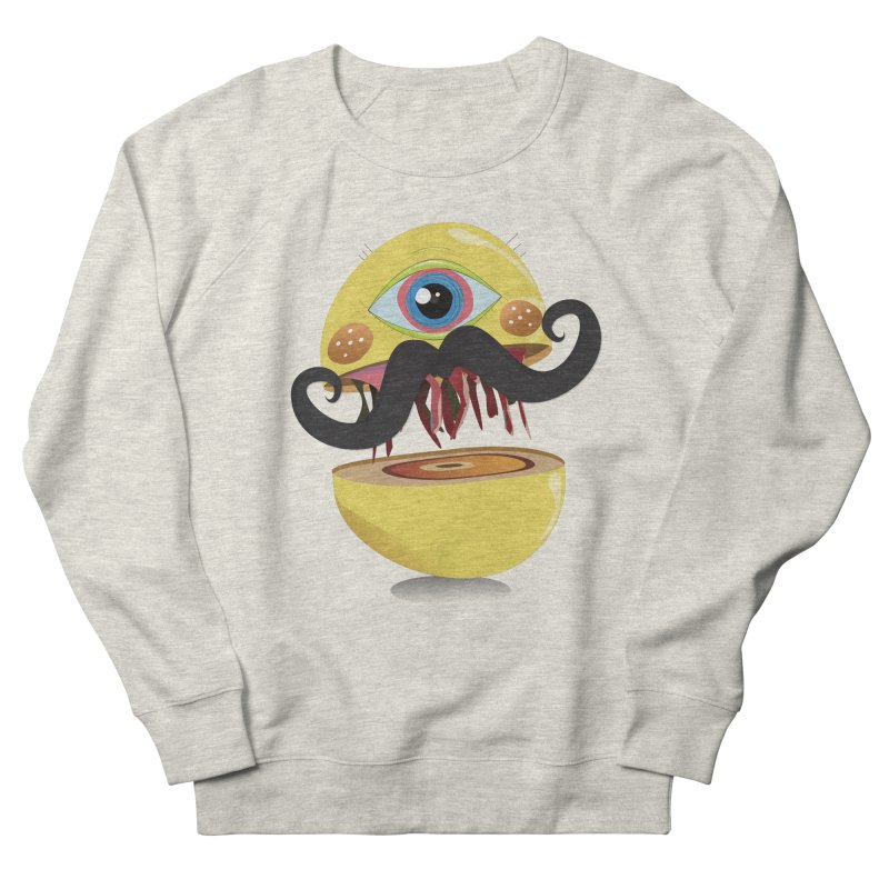 Burger Monsta Women's Sweatshirt by P34K's shop