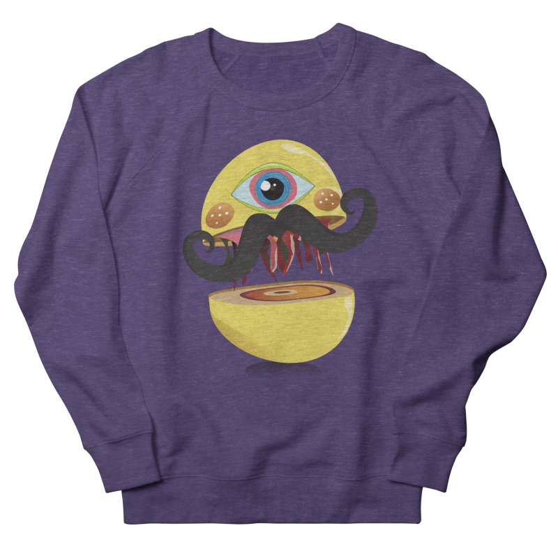 Burger Monsta Men's Sweatshirt by P34K's shop