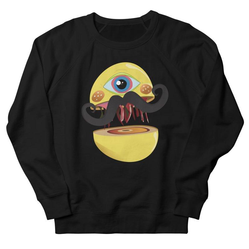 Burger Monsta Men's Sweatshirt by P34K's shop