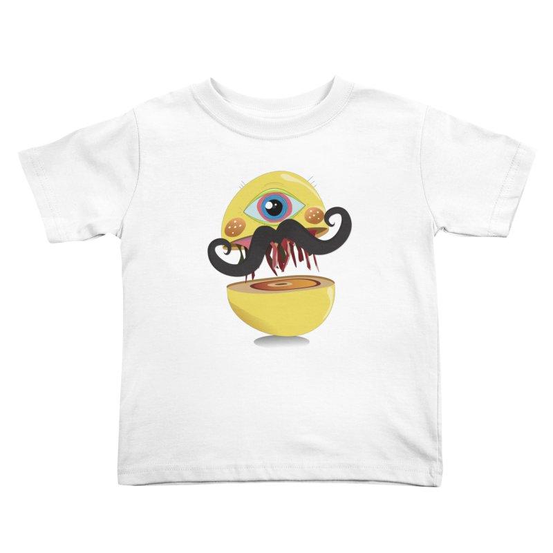 Burger Monsta Kids Toddler T-Shirt by P34K's shop