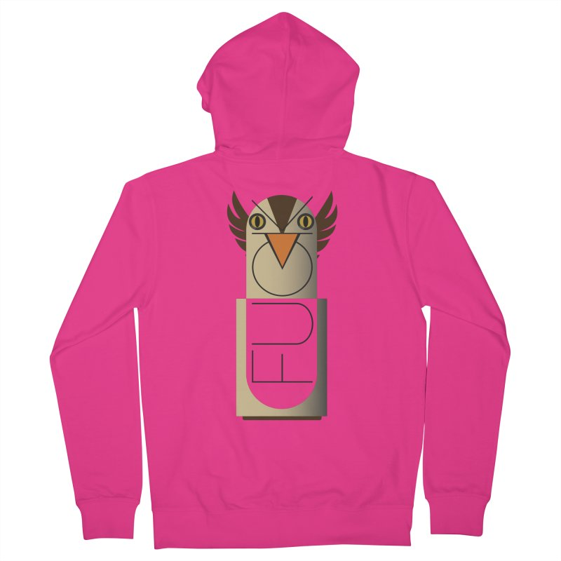 Fckin' Bird Men's Zip-Up Hoody by P34K's shop