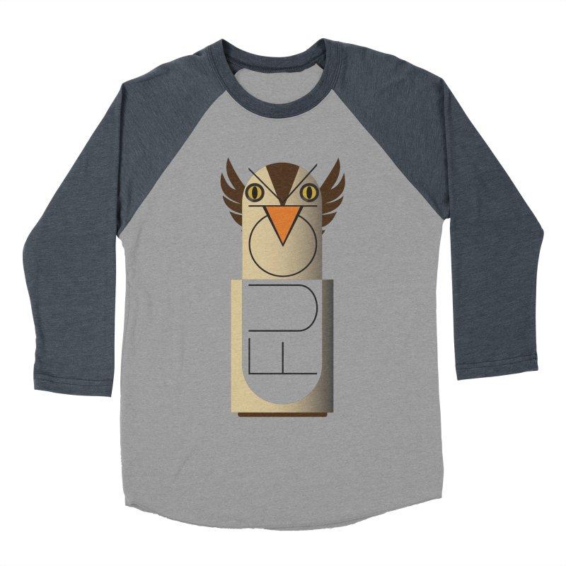 Fckin' Bird Women's Baseball Triblend T-Shirt by P34K's shop