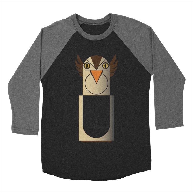 Fckin' Bird Men's Baseball Triblend T-Shirt by P34K's shop