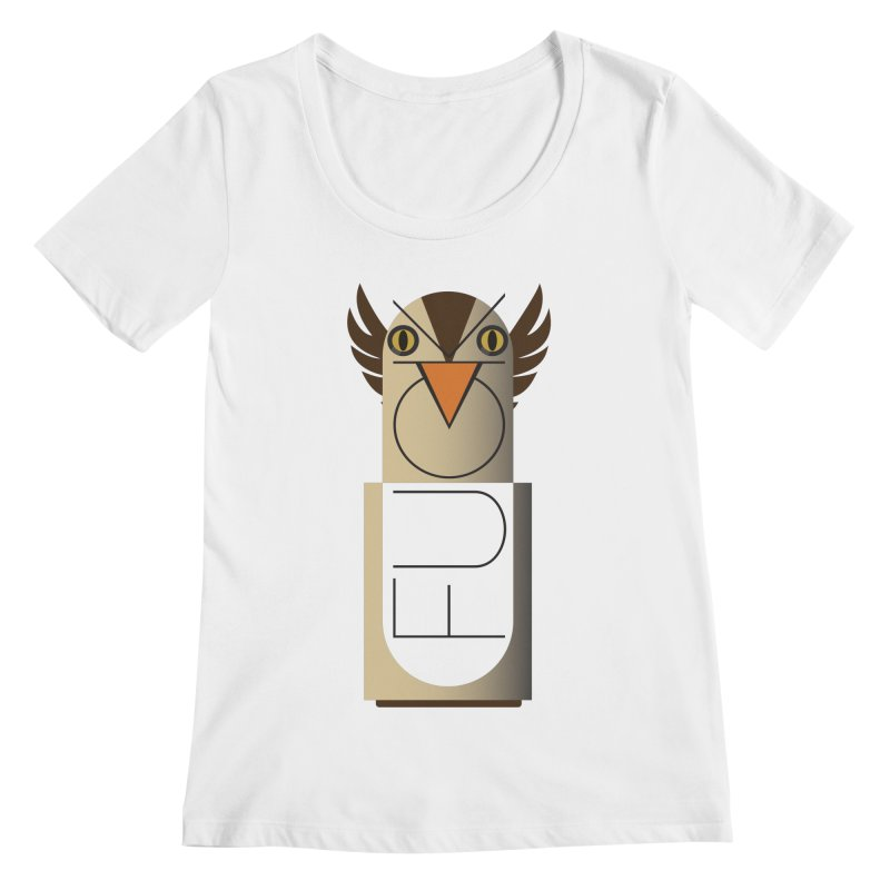 Fckin' Bird Women's Scoopneck by P34K's shop