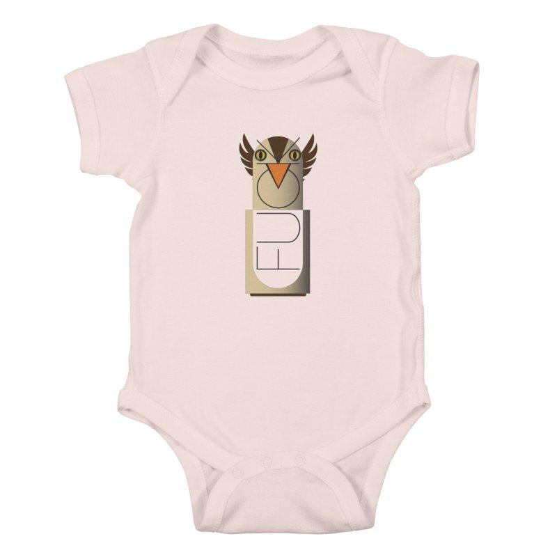 Fckin' Bird Kids Baby Bodysuit by P34K's shop
