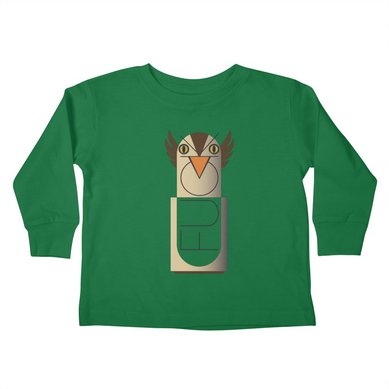 Fckin' Bird Kids Toddler Longsleeve T-Shirt by P34K's shop