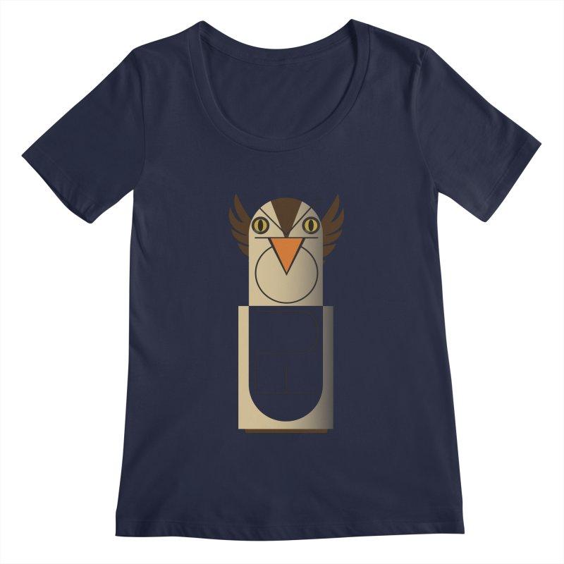 Fckin' Bird Women's Scoopneck by P34K's shop
