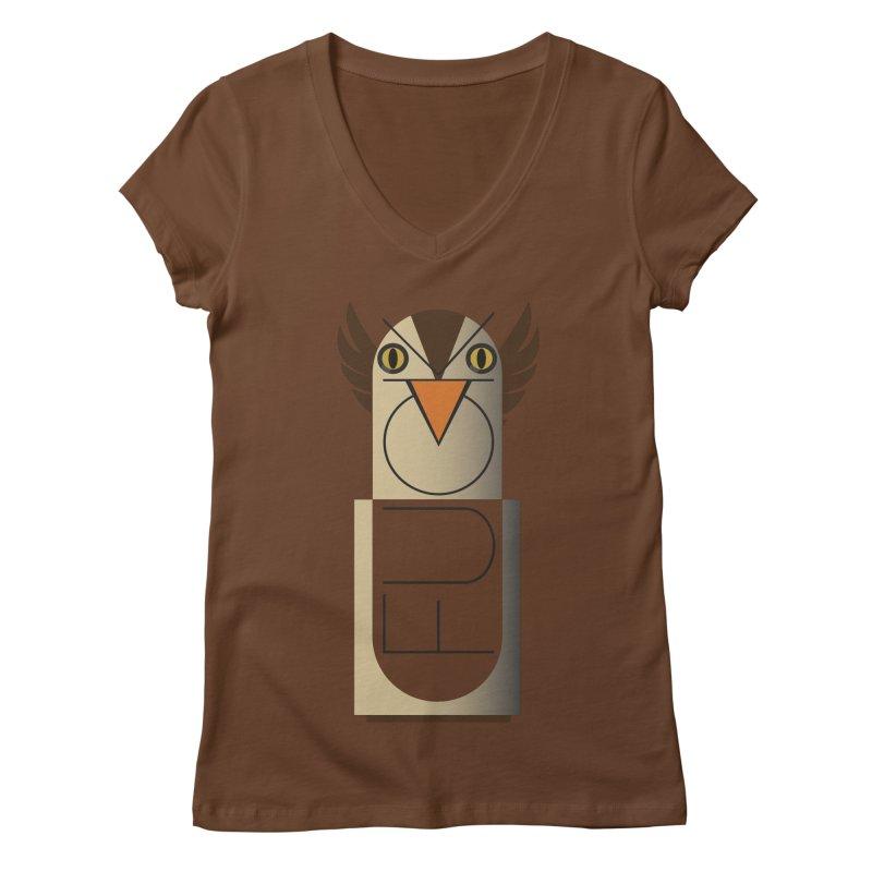 Fckin' Bird Women's V-Neck by P34K's shop