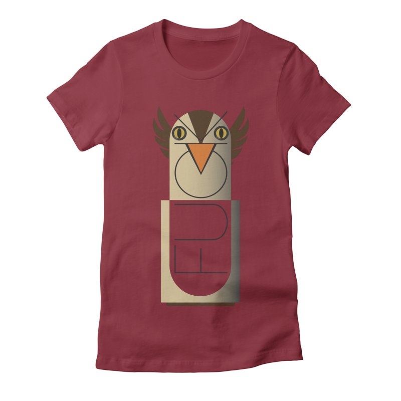 Fckin' Bird Women's Fitted T-Shirt by P34K's shop
