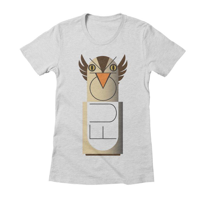 Fckin' Bird Women's Fitted T-Shirt by P34K's shop