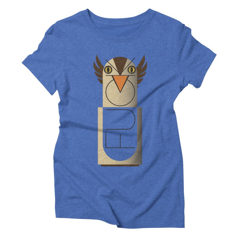 Fckin' Bird Women's Triblend T-shirt by P34K's shop