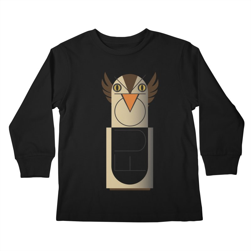 Fckin' Bird Kids Longsleeve T-Shirt by P34K's shop